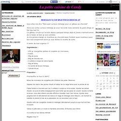Moelleux Courgettes/Chocolat - La petite cuisine de Candy