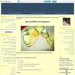 Flan moelleux aux légumes