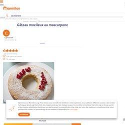 Gâteau moelleux au mascarpone : Recette de Gâteau moelleux au mascarpone