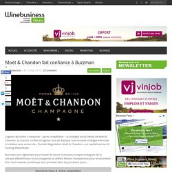 Moët & Chandon fait confiance à Buzzman