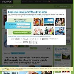 Le Mohair d'Auré: Economisez 50% à Lyon-Est