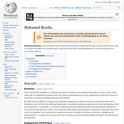 Mohamed Boudia wikipedia