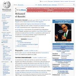 Mohamed el-Baradei membre ICG