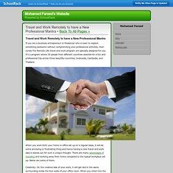 Mohamed Fareed's Website