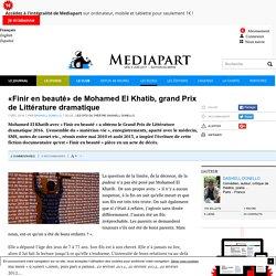 Mohamed El Khatib - «Finir en beauté»