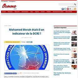 Mohamed Merah indic DCRI