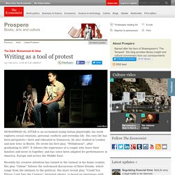 Writing as a tool of protest, The Economist