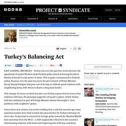 Turkey's Balancing Act - Mohammed Ayoob