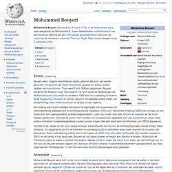Mohammed Bouyeri