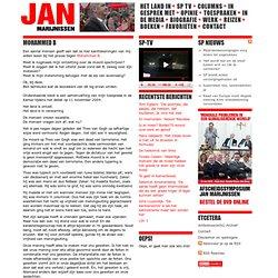 Weblog Jan Marijnissen