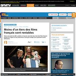 Moins de 20% des films français sont rentables