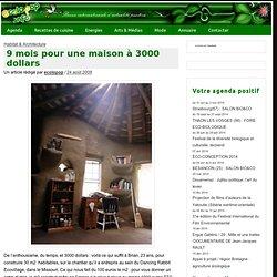 9 mois pour une maison à 3000 dollars