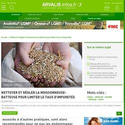 Récolte : régler sa moissonneuse-batteuse pour préserver les grains