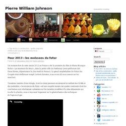 Pour 2013 : les moissons du futur | Pierre William Johnson