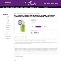 Shea Moisture Tahitian Noni Manoi Hair & Scalp Weekly Therapy