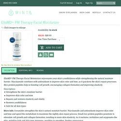 EltaMD PM Therapy Facial Moisturizer rejuvenates your skin!