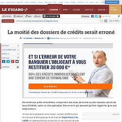 Immo debcyri pearltrees - Erreur credit immobilier ...