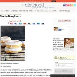 Mojito Doughnuts