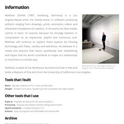 Mokafolio - Information