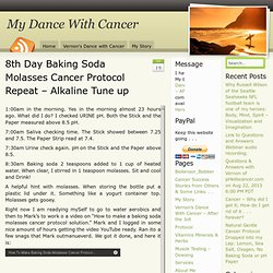 8th Day Baking Soda Molasses Cancer Protocol Repeat – Alkaline Tune up
