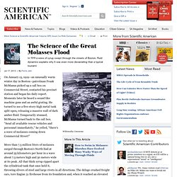 The Science of the Great Molasses Flood
