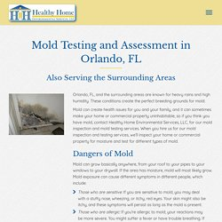 Mold Assessment in Orlando, FL, and the Surrounding Areas