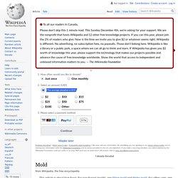 Mold - Wikipedia