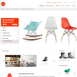 Eames Molded Plastic Chairs - Products