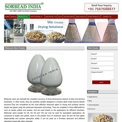 Powder Coating Molecular Sieve Desiccants