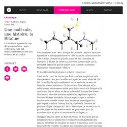Une molécule, une histoire: la Ritaline - Chronique - Corpore Sano - InVivo