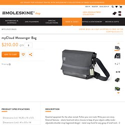 myCloud Messenger Bag