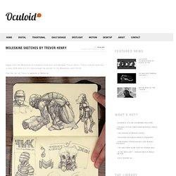 Moleskine Sketches By Trevor Henry