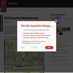 50 Beautiful Moleskines