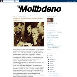 """Molibdeno Molar: Prólogo de """"A sangre y fuego"""" de Manuel Chaves Nogales (1937)"""