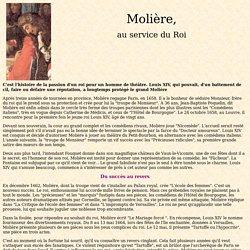 Molière au service du roi