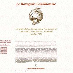 Molière - Le Bourgeois Gentilhomme 1670