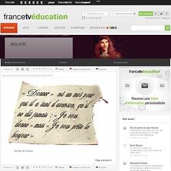 Molière - Dossier sur son œuvre - L'Avare - Curiosphere