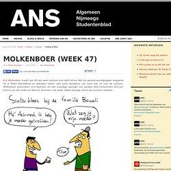 Rutte houd niet van burger Molkenboer (week 47)