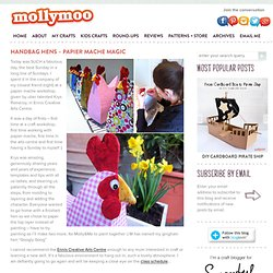 Molly Moo – a mums blog devoted to children's crafts & activities, all things handmade & fab findsHandbag Hens - papier mâché magic » Molly Moo - a mums blog devoted to children's crafts & activities, all things handmade & fab finds