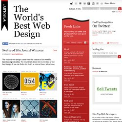 Moluv - The World's Best Web Design - Today's Best Looking Web Sites