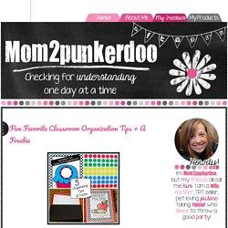 Mom2Punkerdoo: Five Favorite Classroom Organization Tips + A Freebie
