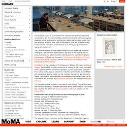 MomA - Library