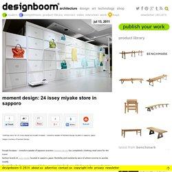 moment design: 24 issey miyake store in sapporo