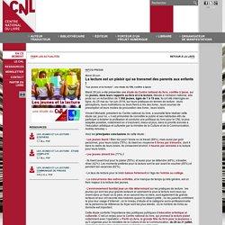 En ce moment - Site internet du Centre national du livre