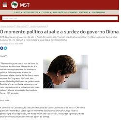O momento político atual e a surdez do governo Dilma