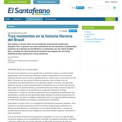 Tres momentos en la historia literaria del Brasil