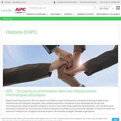 Moments forts et distinctions dans l'histoire d'APC - APC France