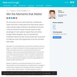 Win the Moments that Matter
