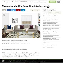 Momentum builds for online interior design