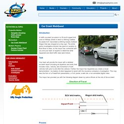 Momentum Car Crash Webquest Introduction